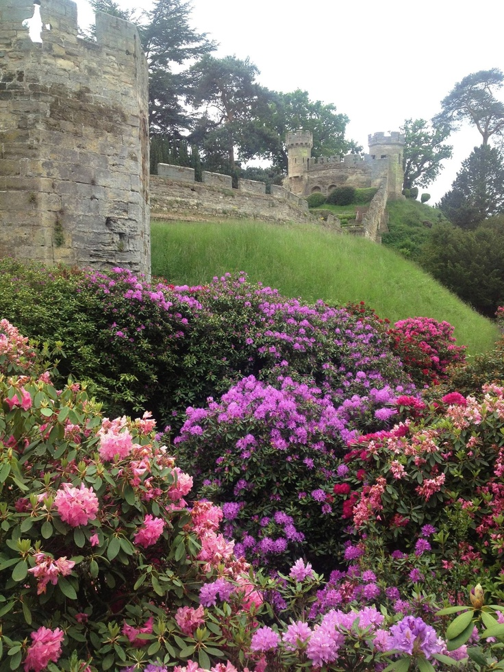 Beautiful castle gardens garden beauty pinterest for Gardening 4 you warwick