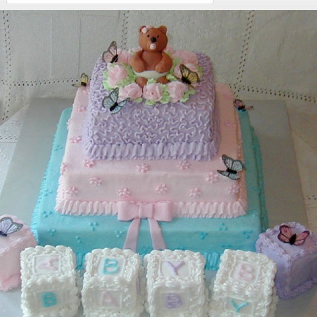 nice baby shower cake food pinterest