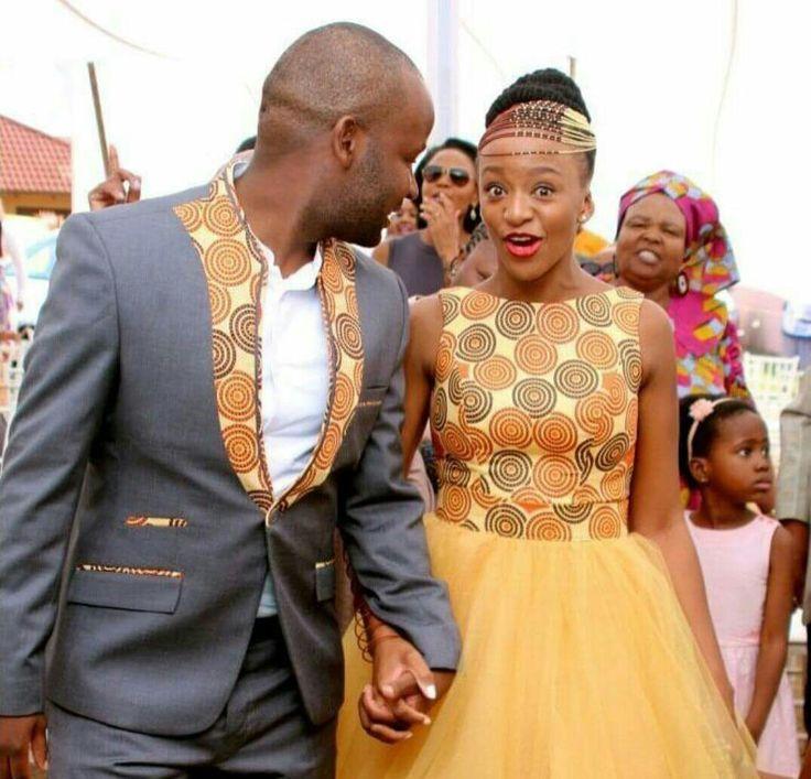 Tedi afro wedding