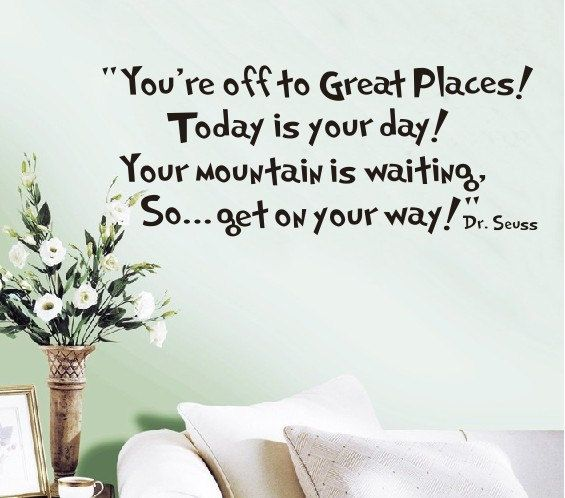 Removable vinyl inspirational quote wall decal quote wall for Bedroom inspiration quotes