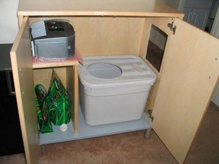 Hiding Cat Litter Box Furniture Ikea Crafts Pinterest