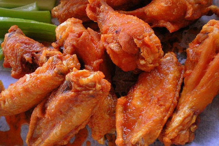 Restaurant-Style Buffalo Chicken Wings | Appertizers | Pinterest