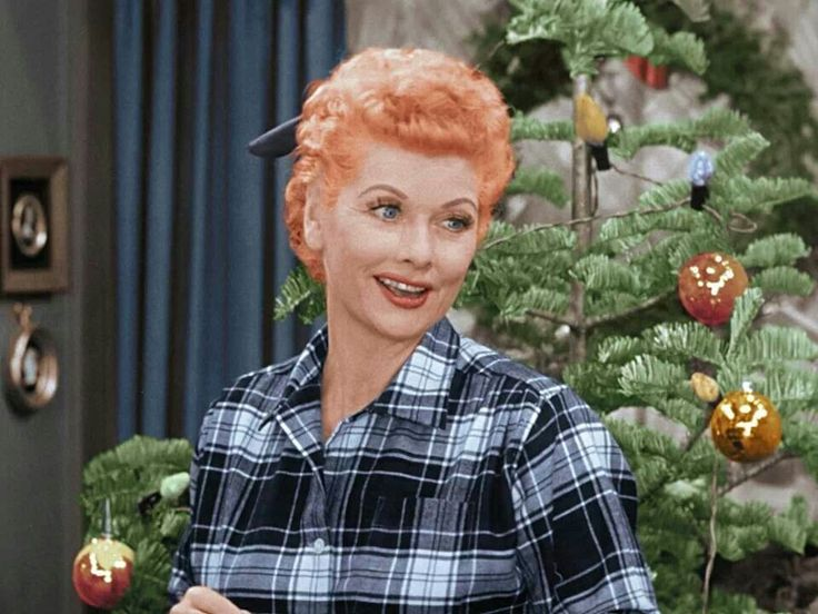 I Love Lucy Christmas Show Women That Inspire Me Pinterest