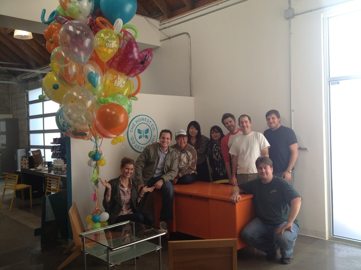 Big celebrations in the office for the launch of Honest.com! We opened for the world to see on January 17, 2012!