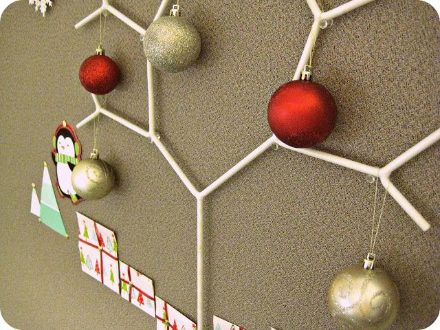 Holiday cubicle decorating christmas on a budget pinterest
