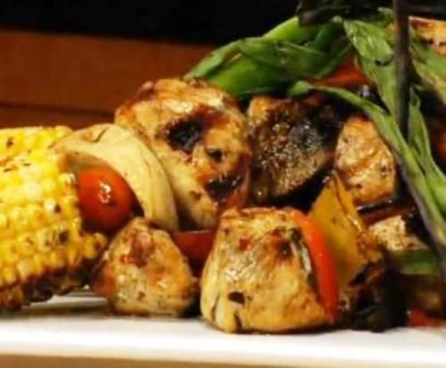 Chicken Foods-Asian Grilled Chicken Kebabs #Chicken #Kebabs