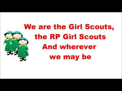 girl scouts march song 1 pinterest