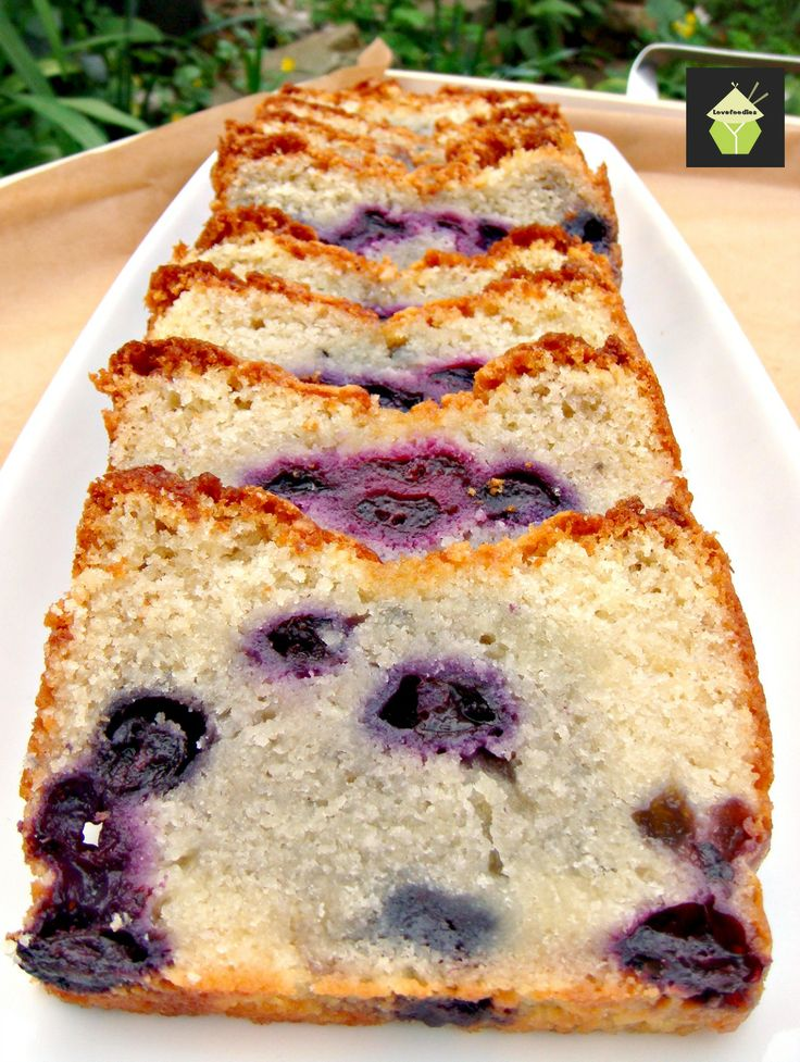 Blueberry Lemon Pound Cake. if you've ever tried our Lovefoodies Pound ...