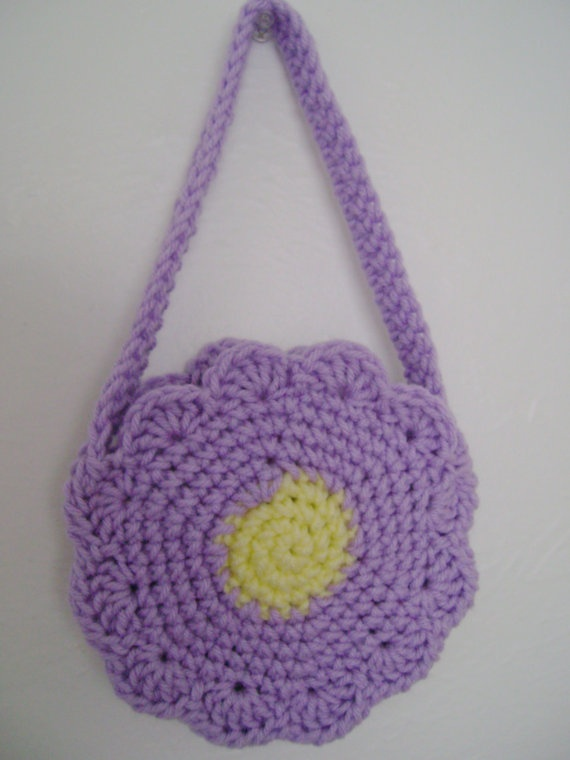 Crochet Small Purse Pattern : small childs purse - crochet Crochet patterns Pinterest