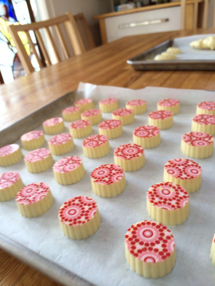 White chocolate amaretto truffles | Cake | Pinterest