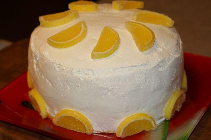 Lemon Chiffon Cake | Sweets | Pinterest