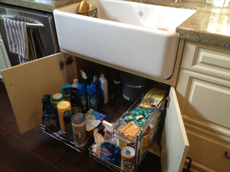 under sink cabinets kitchen pinterest
