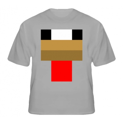 chicken minecraft face  Minecraft Chicken Face T