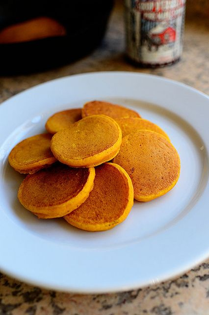 Silver Dollar Pumpkin Pancakes | Recipe