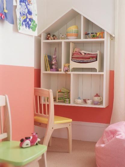 Lifted dollhouse