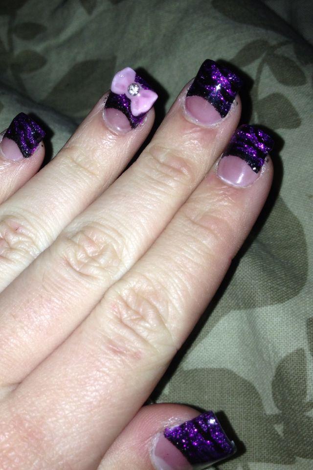 28 fantastic Purple Fake Nails – ledufa.com