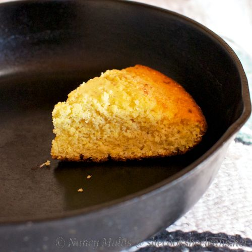 Skillet Cornbread (requires cornmeal, almond flour, aged Jack/parmesan ...