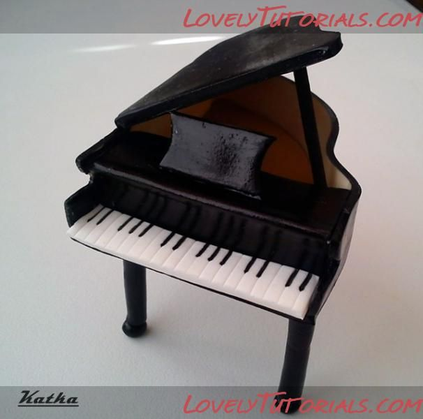 How to make piano cake topper | Cakes and Sugar Art ...