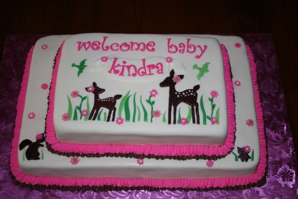 baby deer baby shower cake okay so wow if i do any other sort of