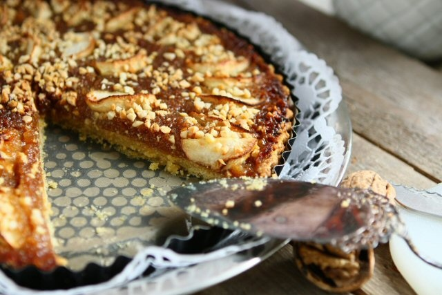 Apple, Ginger and Treacle Tart | Desserts | Pinterest