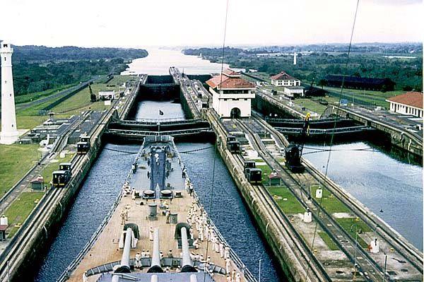 Panama Canal.  #Panama