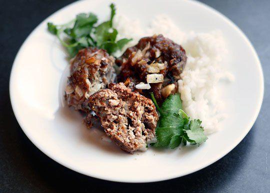 Spiced Lamb Meatballs   Recipe