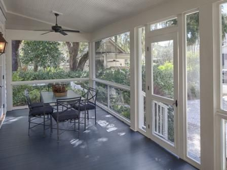 Bungalow for sale in beautiful bluffton south carolina for Craftsman style screened porch