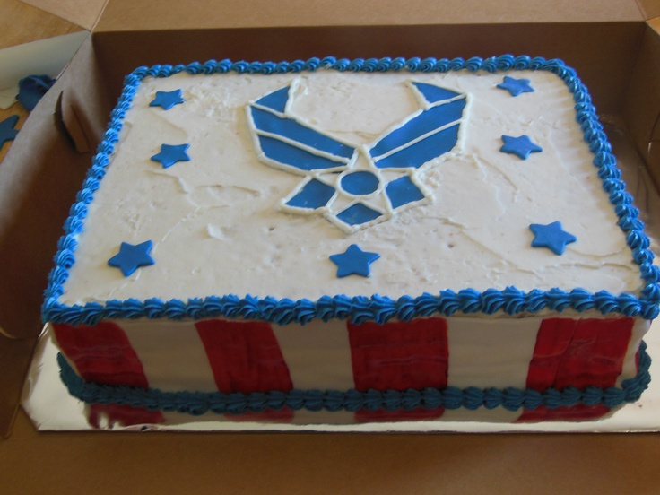 Air force cake blessings bakery pinterest for Air force cakes decoration