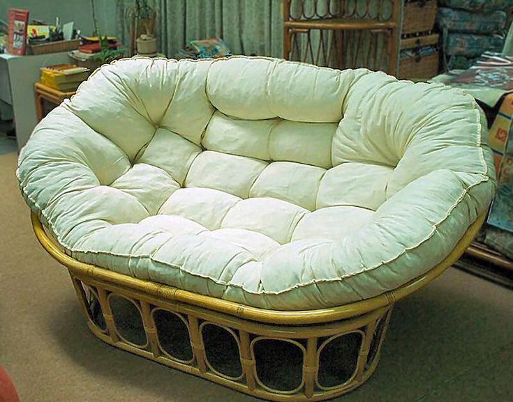 Mamasan double papasan archetecture pinterest for Double papasan chair cushion