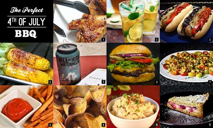 The Perfect 4th of July BBQ | FOOOODDD!!! | Pinterest