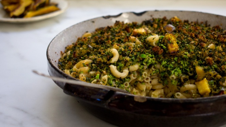 Broccoli-Basil Mac and Cheese | Food | Pinterest
