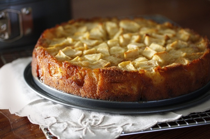 French Apple Cake by Dorie Greenspan from her book Around My French ...