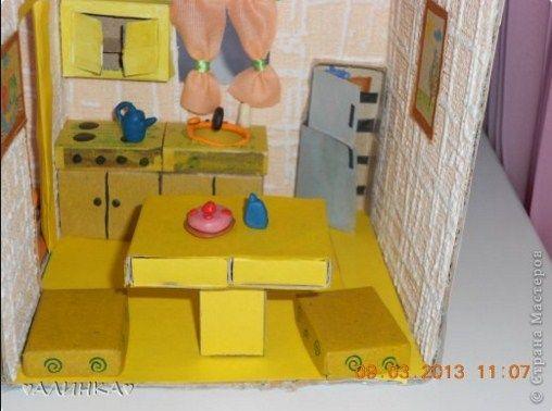 Как кукле сделать мебель