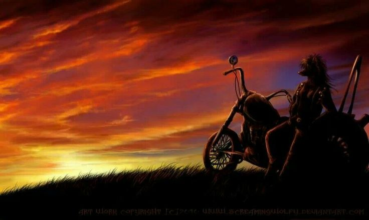 Sunrise | Happy Trails-Everything Motorcycle | Pinterest