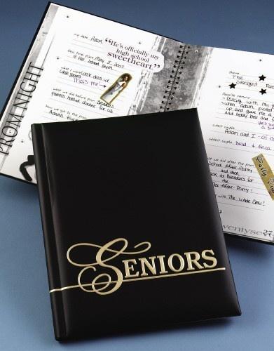 how to write a senior memory book