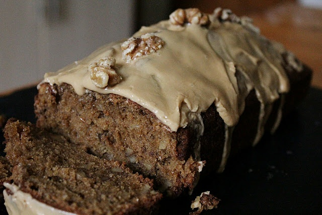 coffee and walnut loaf cake, i am going to try to make this gf