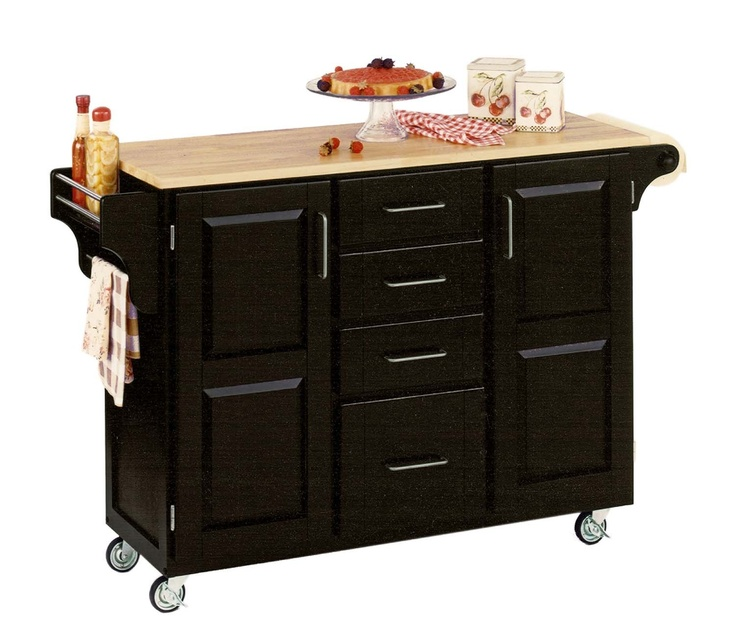 rollable kitchen cart or kitchen island from home styles