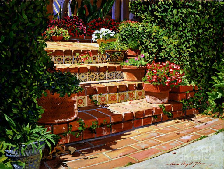Pin by garden landscaping ideas on backyard landscaping for Spanish garden designs