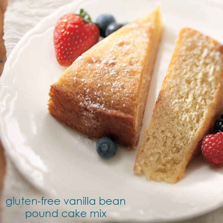 "Gluten-Free Vanilla Bean Pound Cake Mix ""takes the cake"" for most ..."