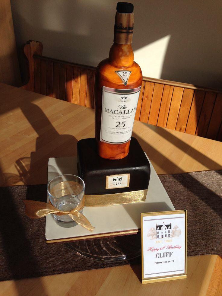 Фото виски с тортом