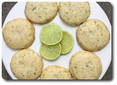 Culinary in the Desert: Cornmeal-Lime Cookies...