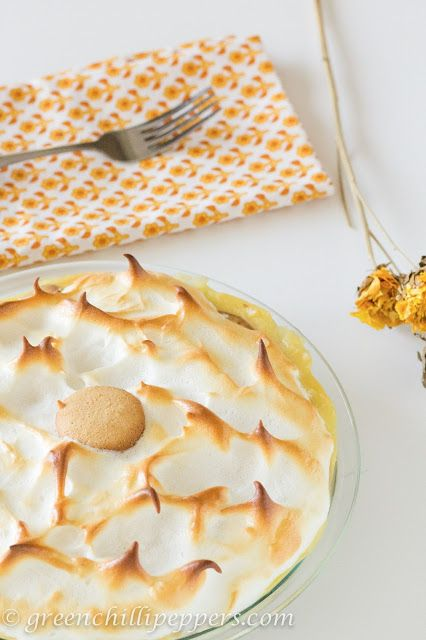 ... Peppers... !: Southern Style Banana Pudding with Meringue Topping