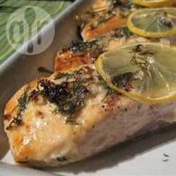 Garlic and Dill Baked Salmon | Recipe