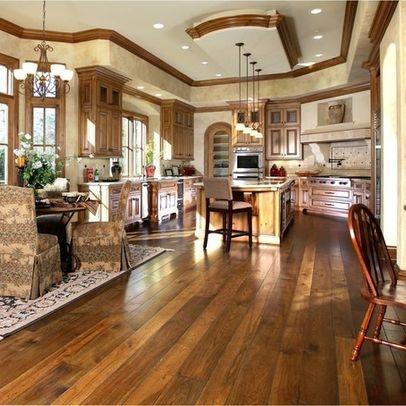 Rustic wide plank hardwood floors design ideas pinterest for Wood floor ideas rustic