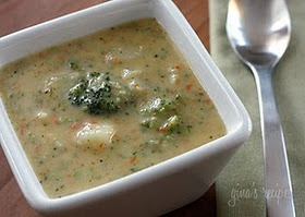 Broccoli Cheese and Potato Soup | Recipe