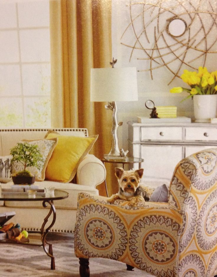 Silver And Gold Living Room Living Rooms Pinterest