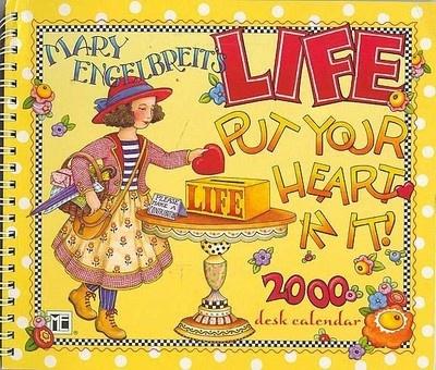 Mary Engelbreit LIFE CALENDAR 2000 | Mary Engelbreit | Pinterest