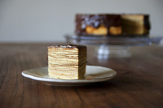 Baumkuchen (German Tree Cake). Supposedly next to impossible to make ...