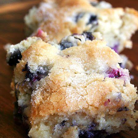 Buttermilk Blueberry Breakfast Cake Subbed coconut oil, whole wheat ...