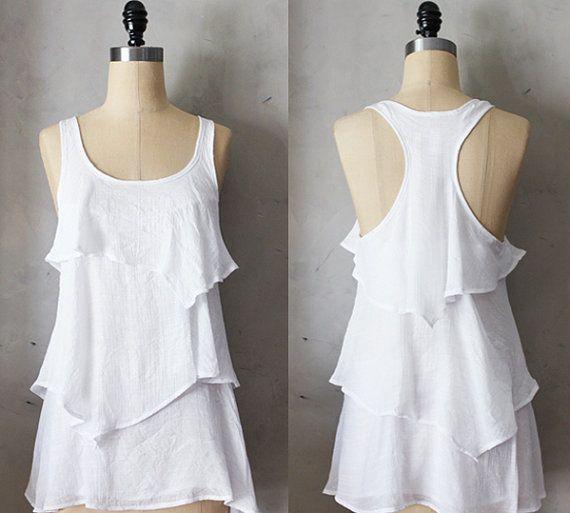 Romantic White Blouse 92